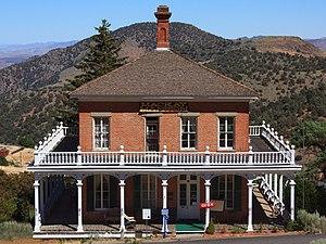 Virginia City Historic District (Virginia City, Nevada) - Image: A489, Virginia City, Nevada, USA, Mackay Mansion, 2016