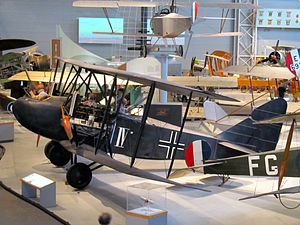 AEG G.IV - AEG G.IV at Canada Aviation and Space Museum