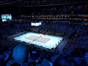 The O2 - O2 Arena Hosting a Tennis Match