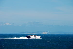 A Condor Ferry and Old Harry Rocks.jpg