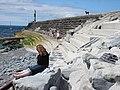 A Sunday afternoon on Tanybwlch Beach - geograph.org.uk - 846544.jpg