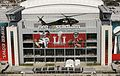 A U.S. Customs and Border Protection UH-60 Black Hawk helicopter flies over NRG Stadium (32481750382).jpg
