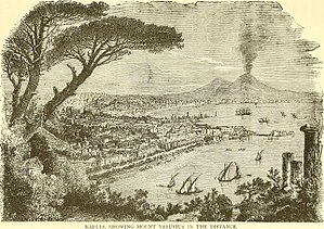 World tour of Ulysses S. Grant - The Grants climbed Mount Vesuvius while in Italy.