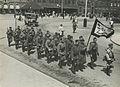 Aankomst van het detachement van 7de regiment Infanterie uit Harderwijk aan het – F40348 – KNBLO.jpg