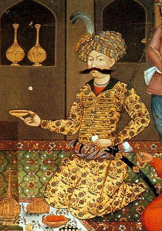 Teimuraz I of Kakheti - Shah Abbas I of Persia.
