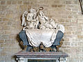 Abbaye de Royaumont - Tombeau d'Henri de Lorraine-Harcourt réfectoire des moines 01.jpg