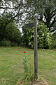 Abbess Beauchamp and Berners Roding, Essex England - fingerpost with poppy 01.JPG