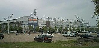 Belgium–Netherlands 2018 FIFA World Cup bid - Image: Abe Lenstra Stadion