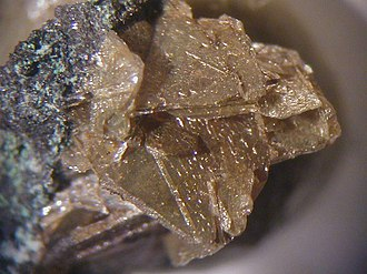 "Abhurite - Brownish tabular crystals of abhurite from Shipwreck ""Hydra"", South coast of Norway"