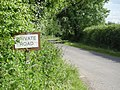 According to my map it's a Public Right of Way - geograph.org.uk - 847758.jpg