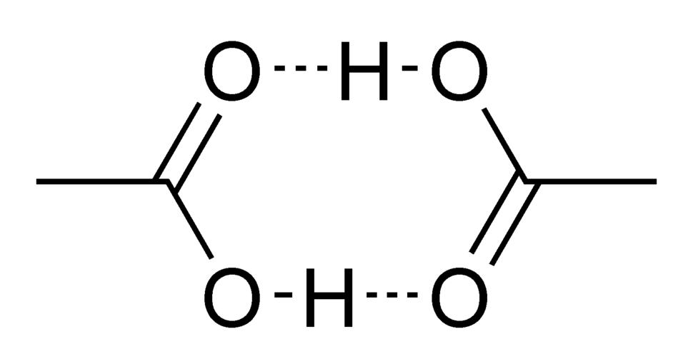 Acetic acid cyclic dimer