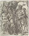 Achior vertelt Holofernes over de Israëlieten Judit en Holofernes (serietitel), RP-P-OB-7308.jpg
