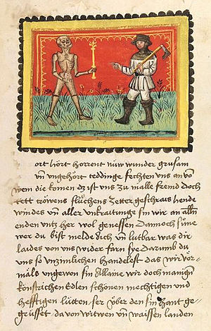 Sudeten Germans - Der Ackermann aus Böhmen, 15th-century manuscript, Heidelberg University