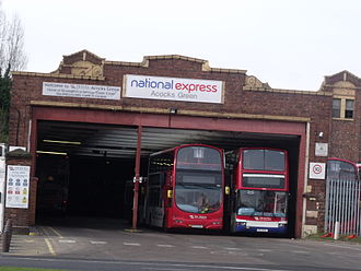 Acocks Green - Acocks Green Bus Garage