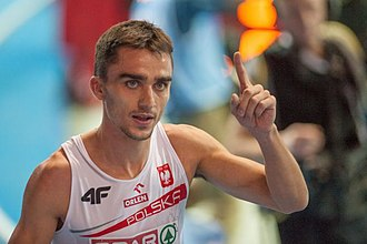 Adam Kszczot - Adam Kszczot during the 2013 European Athletics Indoor Championships