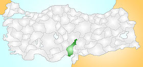 Adana Turkey Provinces locator.jpg