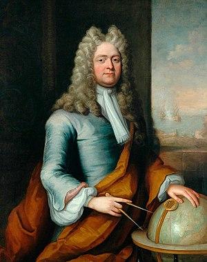 Robert Fairfax (Royal Navy officer) - Portrait of Fairfax c.1695