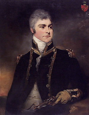William Taylor (Royal Navy officer) - Sir Charles Hamilton, c. 1800, by Sir William Beechey. Taylor served under Hamilton at the capture of Gorée in 1801.