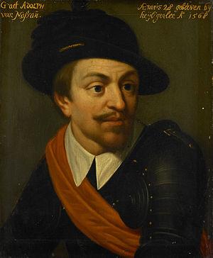 Adolf van Nassau (Wybrand de Geest, 1635)