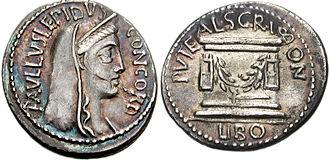 Puteal Scribonianum - Concordia