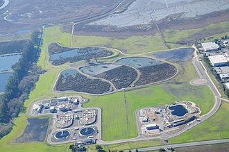 Patricia Johanson - Aerial view of the Ellis Creek Water Treatment Facility in Petaluma, CA.Completed January, 2009City of Petaluma  www.cityofpetaluma.net