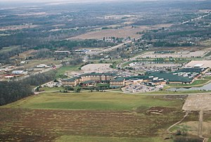 Soaring Eagle Casino & Resort - Soaring Eagle Casino viewed from the air in 2008.