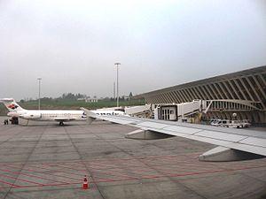 Bilbao Airport.