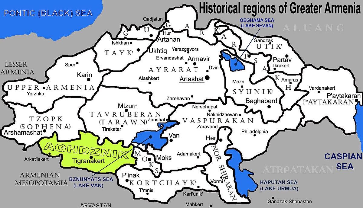 kart armenia Arzanene   Wikipedia kart armenia
