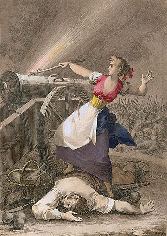 First Siege of Zaragoza - Agustina Zaragoza, by Fernando Brambila