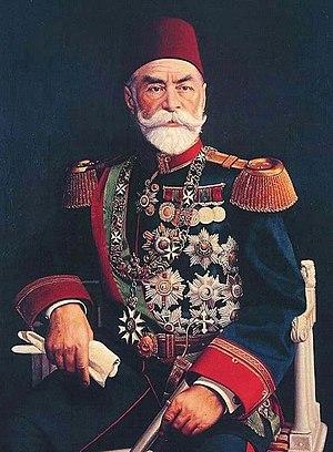 Ahmed Muhtar Pasha - Field marshal Ahmed Muhtar Pasha