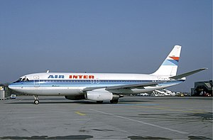 Air Inter - Dassault Mercure in 1985