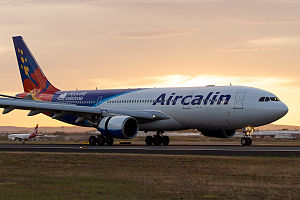 Aircalin Airbus A330-202 at Brisbane Airport.jpg