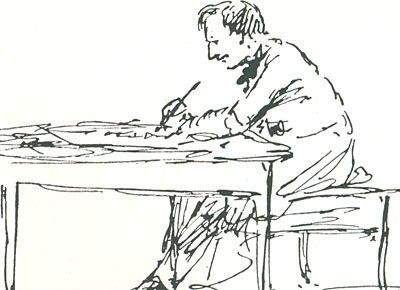 Aivazovsky sketch