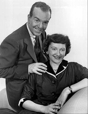 Ethel and Albert - Peg Lynch and Alan Bunce, 1953.