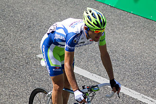 Italian road and track cyclist