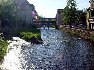 Ettlingen - The Alb River in Ettlingen