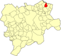 Albacete Alborea Mapa municipal.png
