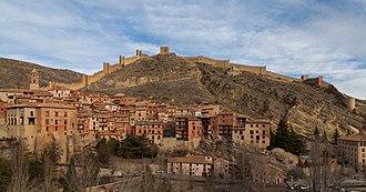 Albarracín - Image: Albarracín, Teruel, España, 2014 01 10, DD 034