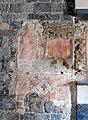 Albenga - Kathedrale San Michele Arcangelo - Kircheninneres - Fresko 1, August 2019.jpg