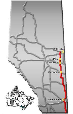 Alberta Highway 23