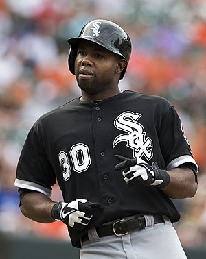 Alejandro De Aza - De Aza during his tenure with the Chicago White Sox in 2013