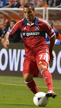Alex Monteiro de Lima - Chicago Fire 2012.jpg