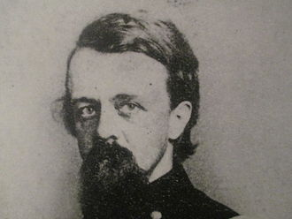 Alfred Terry - Terry as he appears at the Cape Fear Museum in Wilmington, North Carolina, near which he captured Fort Fisher in 1865.