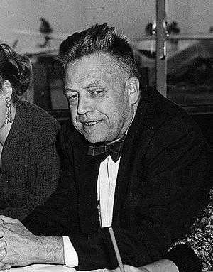 Alfred Kinsey - Kinsey in Frankfurt, November 1955