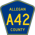 Allegan County A-42.svg
