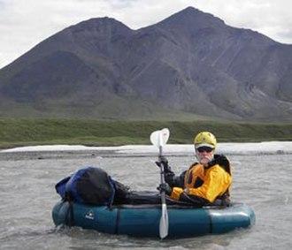 Packraft - An Alpacka Raft paddled via kayak paddle