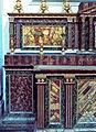 Altar plinth marbleized Baroque church St Peter San Pietro Modica Sicily Sicilia Italy.jpg