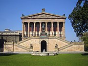 Alte Nationalgalerie is part of the Museum Island and a World Heritage Site