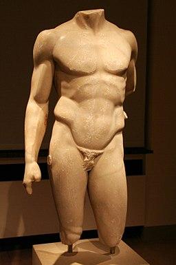Altes Museum - Torso des Doryphoros des Polyklet von Argos