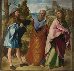 Altobello Melone - The Road to Emmaus - Google Art Project.jpg
